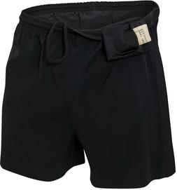 Black Physical Training PT Shorts Solid Work Out Running Exe