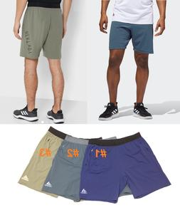 ADIDAS HEAT.RDY 9-INCH SHORTS Cooling Stretch Active Trainin