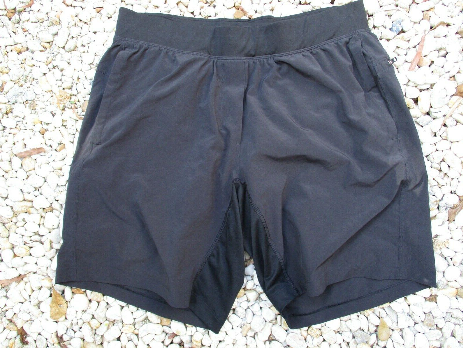 authentic black compression liner running yoga gym