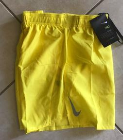 """Nike Men's Challenger 5"""" Brief-Lined Running Shorts Yell"""