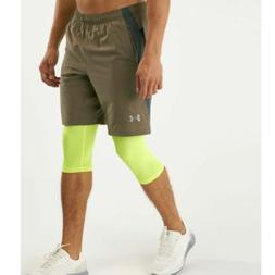 Under Armour Men's UA Launch 2-in-1 Long Shorts NWT Size 3