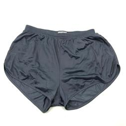 NEW Soffe Tricot Running Shorts Silkies Size Large L Slate G