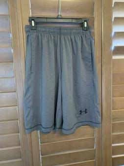 """Under Armour UA Qualifier 9"""" Woven Shorts Loose 9 inch Heatg"""